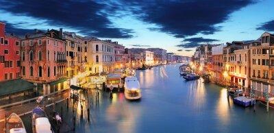 Papiers peints Panorama de Venise du pont du Rialto