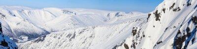 Papiers peints Panorama des montagnes du nord
