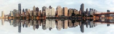 Papiers peints Panorama grand angle de new york city