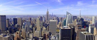 Papiers peints Panorama, Manhattan, Horizon, nouveau, York, ville, USA