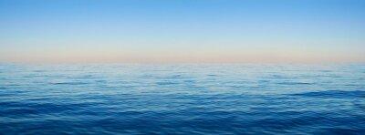 Papiers peints Panorama, mer, vagues, fond, aube