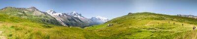 Papiers peints Panorama Mont Blac