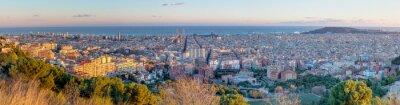 Papiers peints Panorama of Barcelona