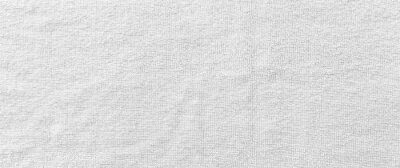 Papiers peints Panorama of New white towel texture and background seamless