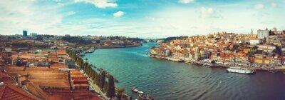 Papiers peints Panoramique du Douro à Porto.