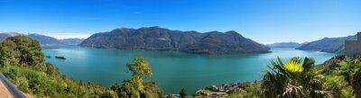 Papiers peints Panoramique du Lac Majeur