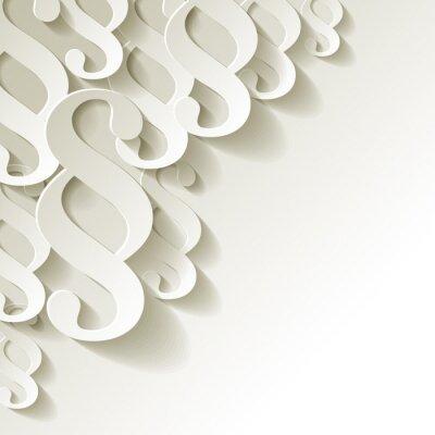 Papiers peints papier de l'article coin blanc