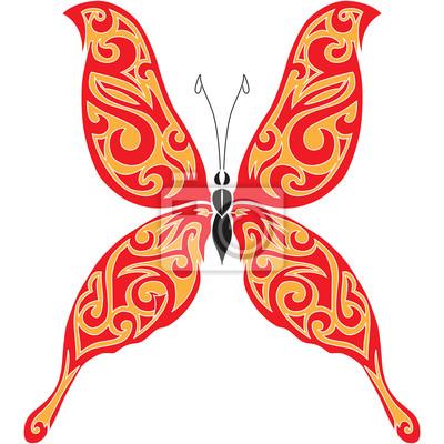 Papillon de tatouage