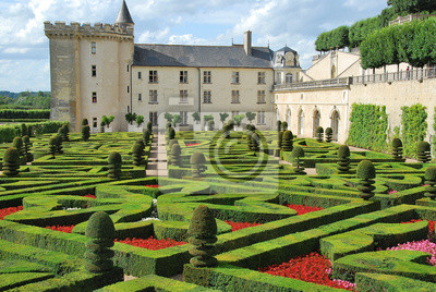 Papiers peints Parc du château de Villandry