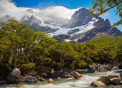 Papiers peints Parc national Torres del Paine. Patagonie, Chili