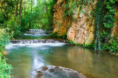 Papiers peints Parc Naturel Monasterio de Piedra, Saragosse (Espagne)