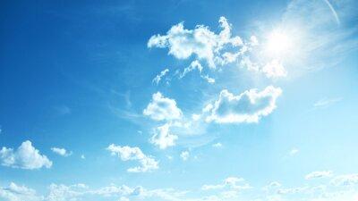 Papiers peints Parfait bleu, ciel ensoleillé