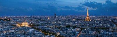 Papiers peints Paris à l'heure bleue