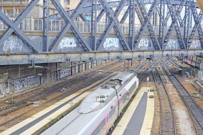 Papiers peints Paris, France, 9 février 2016: Gare du Nord à Paris, France