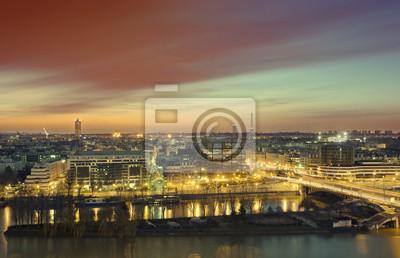 Papiers peints Paris Sunrise