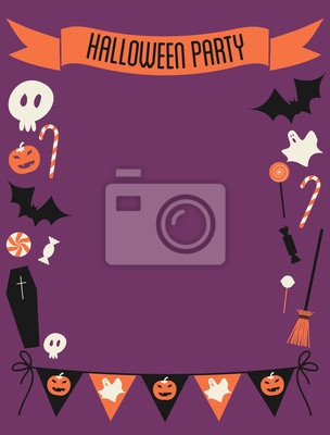Party Halloween Frame
