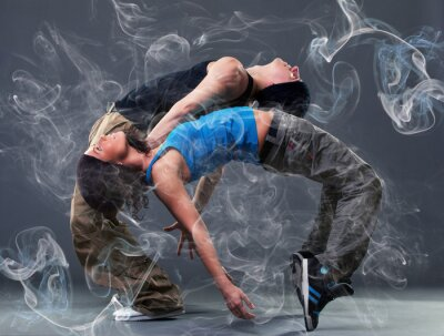 Papiers peints Passion danse couple.