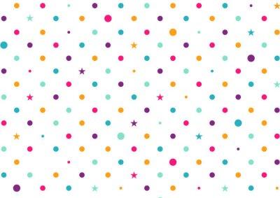 Papiers peints Pastel, coloré, points, blanc, fond, vecteur