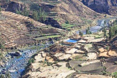 Papiers peints Paysage dans les Andes. Pérou.