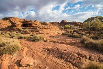 Papiers peints Paysage du canyon de Kings dans le Territoire du Nord, en Australie.