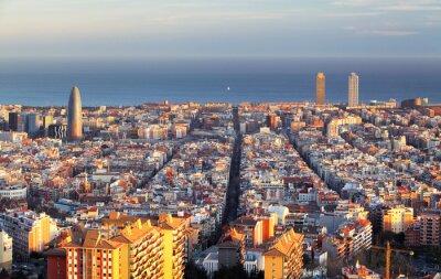 Papiers peints Paysage urbain de Barcelone, Espagne