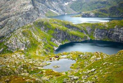 Papiers peints Paysages de la Norvège du Nord. Îles Lofoten