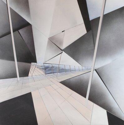 Papiers peints Peinture abstraite