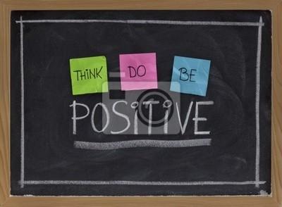 Papiers peints penser, faire, être positif