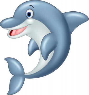 Papiers peints Permanent Dolphin Vector Illustration