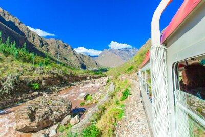 Papiers peints Pérou Rail de Cuzco à Machu Picchu Pérou