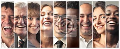 Papiers peints Personnes souriantes