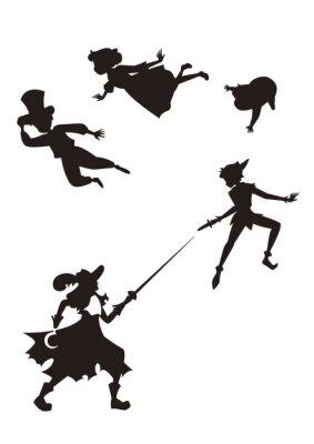 Papiers peints Peter Pan
