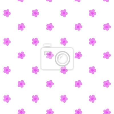 Petit Rose Fleurs Modele Seamless Vecteur Papier Peint