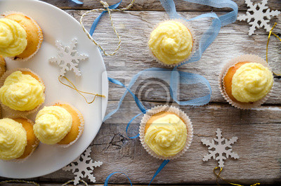 Petits gâteaux de Noël de vanille