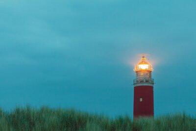 Papiers peints Phare de l'île hollandaise de Texel