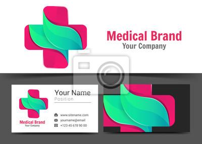 Papiers Peints Pharmacie Mdicale Logo Corporatif Et Modle De Signe Carte Visite Professionnelle