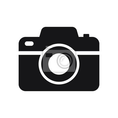 Papiers peints Photo camera vector icon isolated