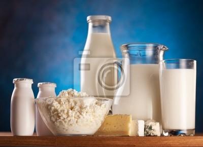 Photo des produits laitiers.