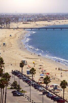 Papiers peints Pier in Long Beach, Los Angeles, Californie