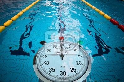 Piscine olympique jeux ligne eau comp tition natation for Dimension piscine olympique