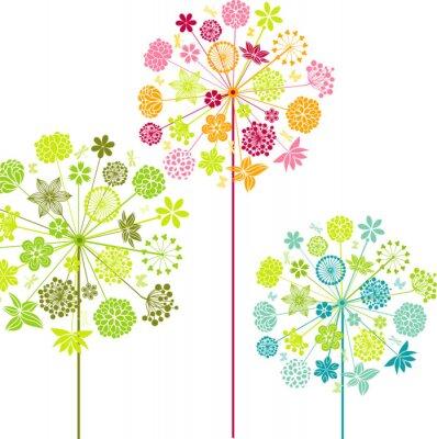 Papiers peints Pissenlits décoratifs
