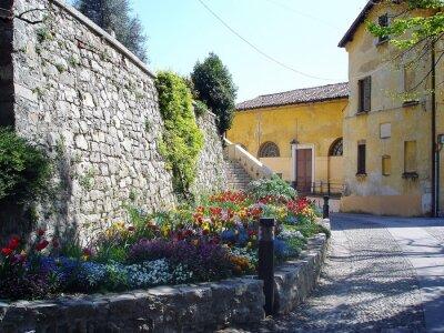 Papiers peints Pittoresque streen en Italie