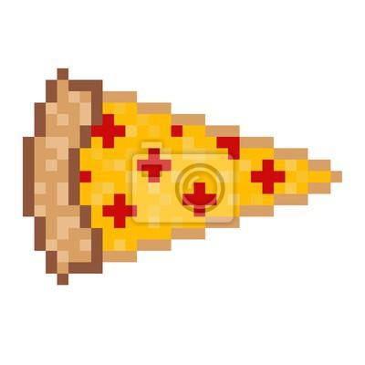Papiers Peints Pizza Pixel Art