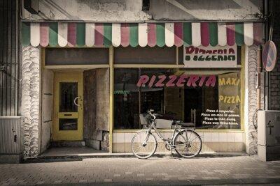 Papiers peints pizzeria