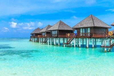 Papiers peints Plage avec Maldives