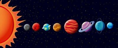 Papiers peints Planètes dans le système solaire