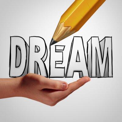 Papiers peints Planification des rêves