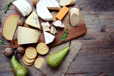Papiers peints Plateau à fromage