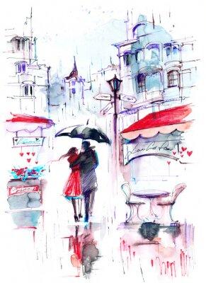 Papiers peints pluie