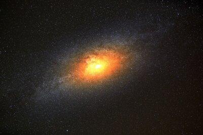 Papiers peints Plus brillant, galaxie, fond, sombre, ciel, étoiles